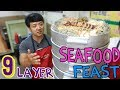 Download Youtube: MASSIVE! NINE Layer SEAFOOD Tower in Seoul, South Korea