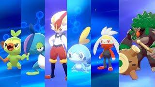 Pokemon Sword And Shield Starter Evolutions