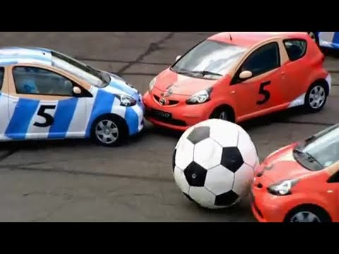Aygo five-a-side football | Top Gear | BBC