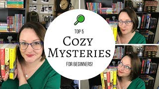 Top 5| Cozy Mysteries For Beginners 2018