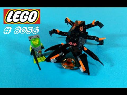 Vidéo LEGO Atlantis 8056 : Le crabe des profondeurs