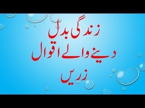 Goldan words Quotes urdu /Aqwal e zareen in urdu Anmol alfaaz