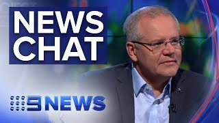 Morrison Hits Back & Tayla Harris Trolling | Nine News Australia