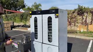 80 Tray Dehydrator Food Dehydrator Machine Electric 80 Tier Preserver Fruit/ Meat/ Beef Dryer