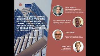 Debate: La bondad de inversión en la primera vivienda en pandemia