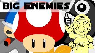 Tips, Tricks and Ideas with Big Enemies in Super Mario Maker or
