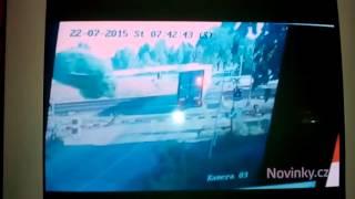 Nehoda vlaku Pendolíno vs kamion Studénka