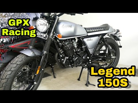 Legend 150S Cafe Racer Review | GPX Racing Motorcycle | Nayem Rock