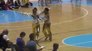 World Championship 2014 Turin - Disco Dance - Edoardo Ciolli and Sharon Bettarini
