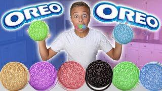 Rare Limited Edition Oreo Cookie Flavors Taste Test Adventure!!