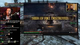 Asmongold Reacts to Dark Souls 3 All Bosses Speedrun World Record [1:16:54] by COLTrane45