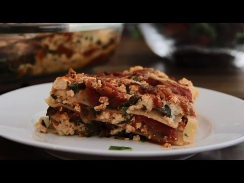 Vegetarian Recipes - How to Make Vegan Lasagna