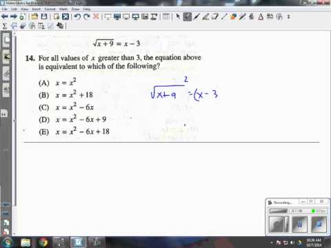 Practice Test Video PSAT Prep - YouTube
