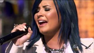 Demi Lovato - Let It Go - Live @ Disney Park Christmas Day Parade 2013