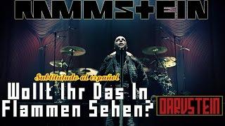 Rammstein - Wollt Ihr Das Bett In Flammen Sehen (Subtitulado al Español) (Live 2012)