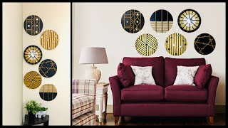 6 Handmade Craft Ideas For Your Wall Decor| Create A Unique Statement Wall| Gadac Diy| Wall Hanging