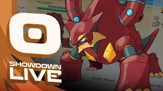 VOLCANION ERUPTS Mega Metagross Suspect #5 - Pokemon Sun & Moon OU Showdown Live w/PokeaimMD by PokeaimMD