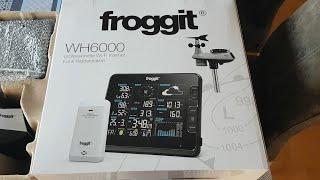 Froggit WH6000 - Station météo Wi-Fi professionnelle