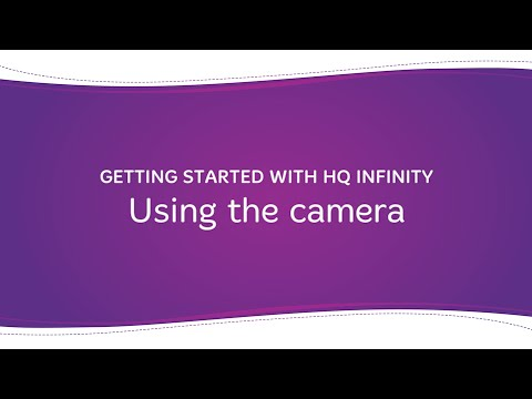 HQ Infinity - Using the Camera