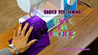 Sewing For Beginners: Sewing A Straight Line Stitch