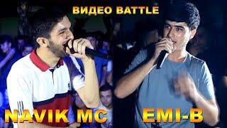 Видео Battle, Navik MC vs. Emi-B (RAP.TJ)