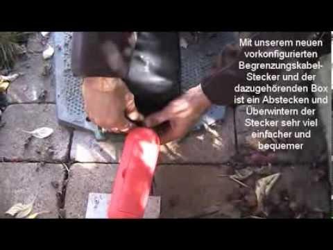 Automower - Winter-Check - Anschlussstecker