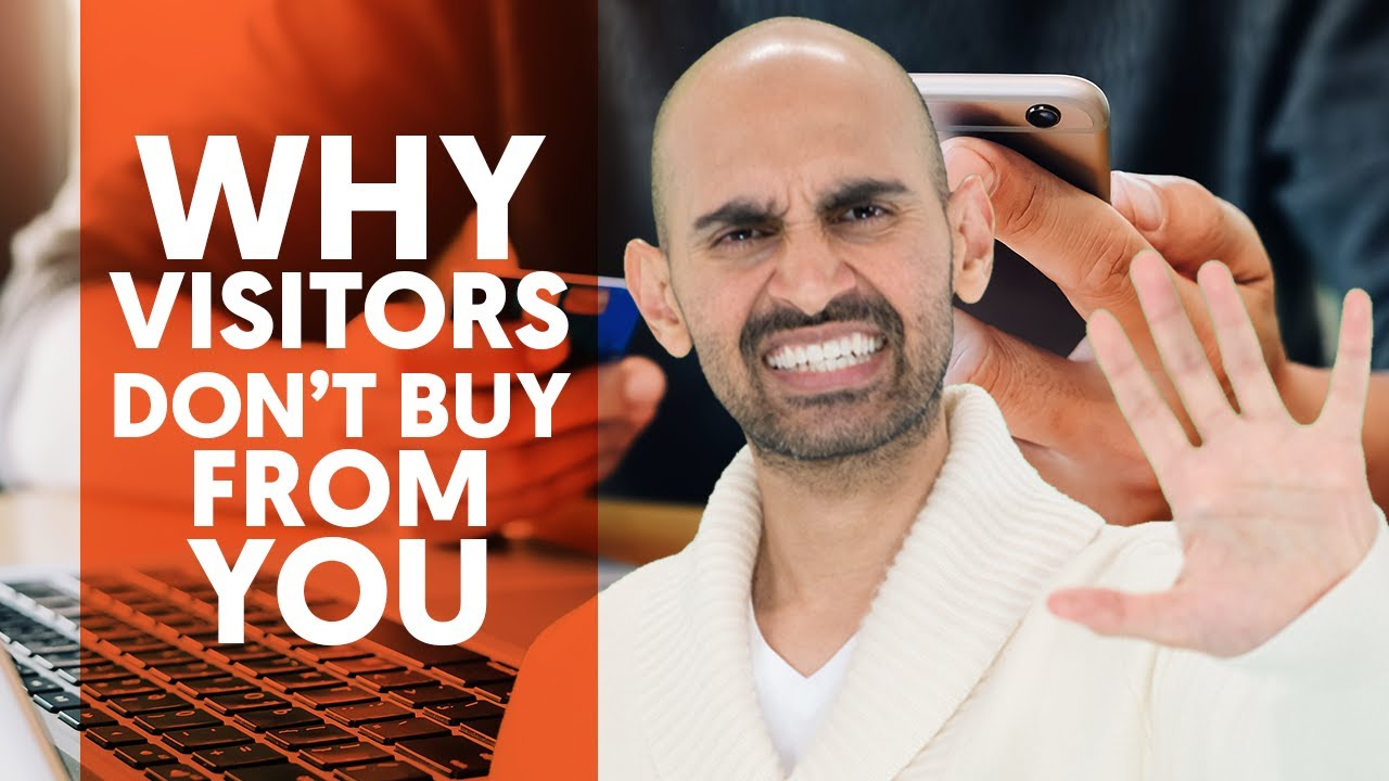 The Number 1 Reason 99% of Your Visitors Don't Buy from You