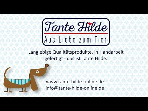 Tante Hilde Hundebett Norderney