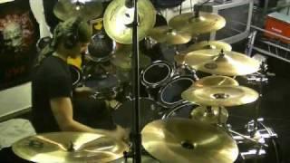 Children of Bodom - Bodom Beach Terror Drumcover by Marzl