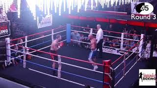 Undisputed Boxing | UBP Light Heavy Weight Title Brad Taylor VS Mitchell Walsh | 17/11/17