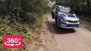 Spectate the Ojibwe Forests Rally in 360º