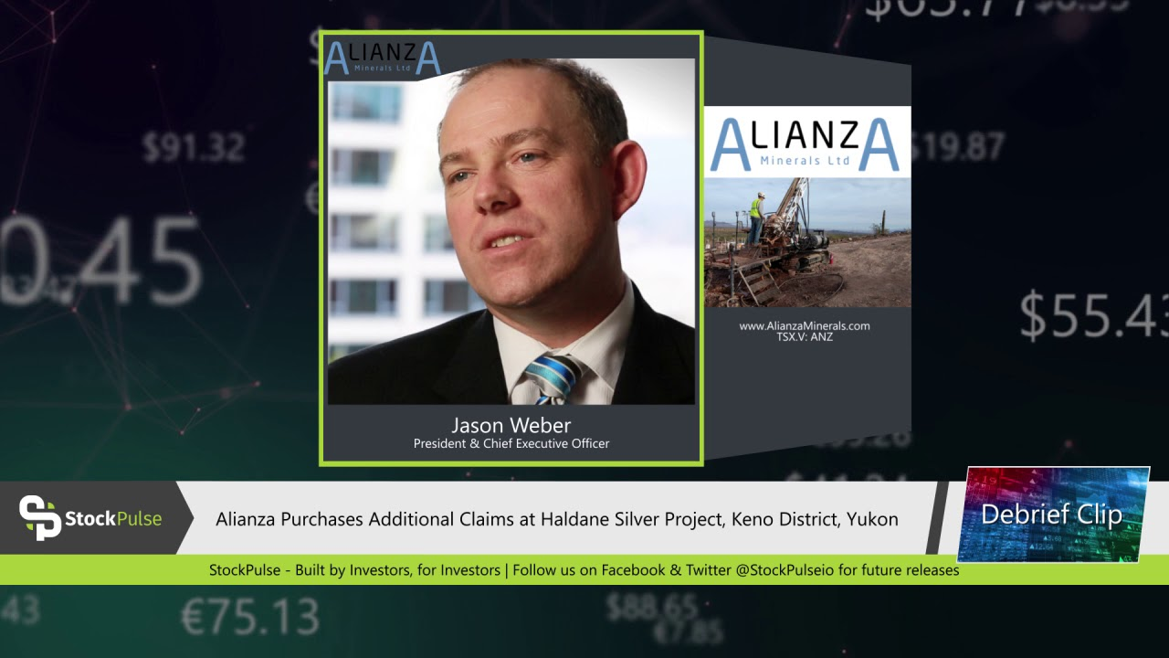 Alianza Purchases Additional Claims at Haldane Silver Project, Keno District, Yukon