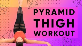 Inner & Outer Thigh Pyramid Workout - 600 reps!