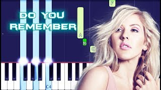Ellie Goulding - Do You Remember Piano Tutorial EASY (Piano Cover)