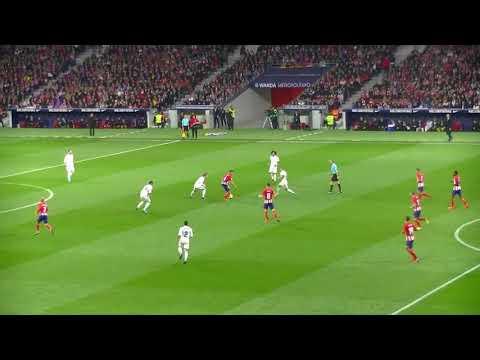 Una noche en el Wanda Metropolitano/Atletico de Madrid VS Real Madrid