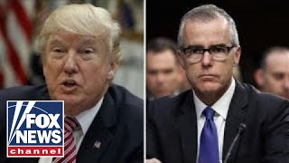 Is Trump in the clear, but McCabe in trouble?