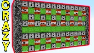 WORLD'S MOST OVERPOWERED MINECRAFT TNT CANNON!