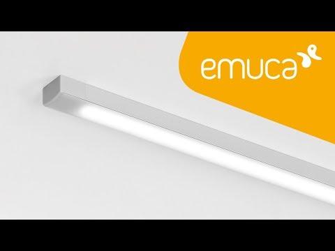 Cómo instalar una Tira LED con perfil de aluminio en la superficie de un mueble – Emuca