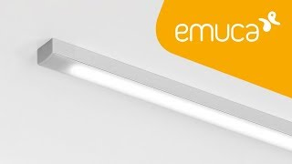 How to install an LED Strip with an aluminium profile into the surface of furniture