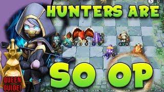 Hunters Are Actually So BROKEN OP ⭐⭐⭐ Sniper Carry [Queen Rank Guide]  | Auto Chess