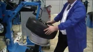 Шиномонтажный станок Ravaglioli G1001-24AX-PLUS80CL от компании АвтоСпец - видео