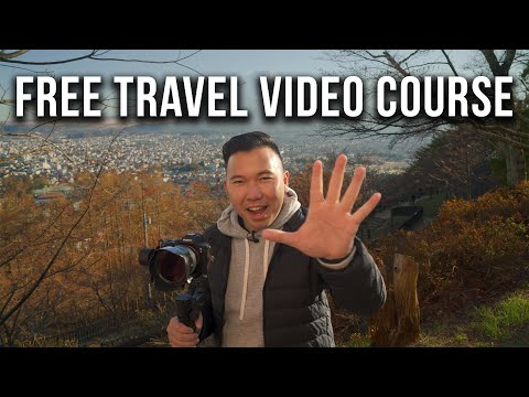 FREE Travel Video Course! | Camera Lenses & Gear Ep 01 - YouTube