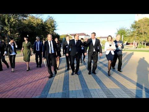Врио Губернатора Астраханской области С.П.Морозов посетил город Ахтубинск