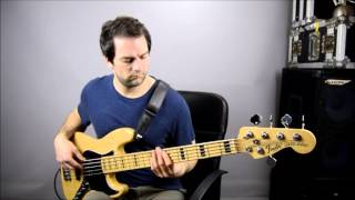 Ain`t Nobody - Chaka Khan. Bass guitar cover by Mitch Cockman - Yorkshire Bass Player