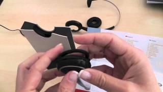 JABRA Schnurloses Headset GN 9120 DG für schnurlos DECT Telefone (GAP)
