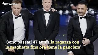 Sanremo, L'ex Moglie Di Baglioni E La Foto Bollente Per Replicare Alla Battuta Di Pio E Amedeo