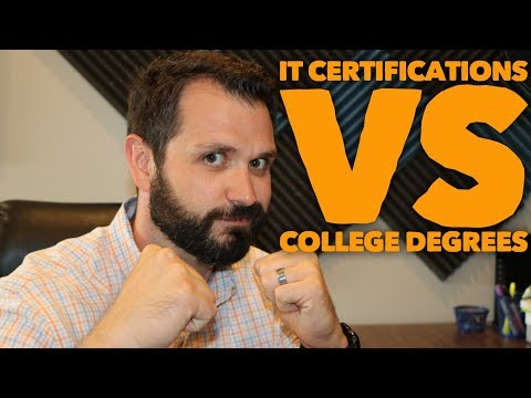 How To Choose IT Certification vs. Computer Science Degree ...