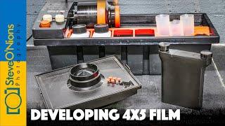 3 Ways to Develop 4x5 Film at Home (2020)