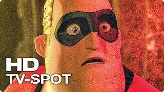 СУПЕРСЕМЕЙКА 2 ✩ TV Ролик РЕЖИМ БЕЗ ЗВУКА (Брэд Бёрд, Мультфильм, СуперХеро, Pixar, 2018)