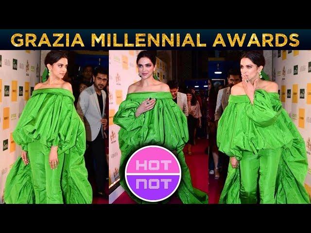 Deepika Padukone's All Green Dress   BEST Or WORST Look   Grazia Millennial Awards